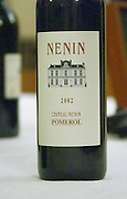 Chateau Nenin, Pomerol, Bordeaux, France