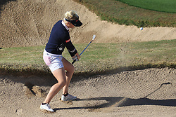 March 22, 2019 - Phoenix, AZ, U.S. - PHOENIX, AZ - MARCH 22: Charly Hull hits out of a bunker on 16 during the second round of the Bank of Hope LPGA Golf Tournament at the Wildfire Golf Club at JW Marriott Phoenix Desert Ridge Resort & Spa, March 22, 2019 in Phoenix, Arizona (Photo by Will Powers/Icon Sportswire) (Credit Image: © Will Powers/Icon SMI via ZUMA Press)