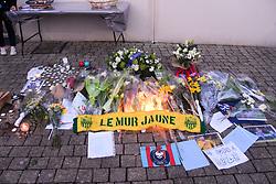 February 13, 2019 - Caen, France - HOMMAGE A 09 EMILIANO SALA (NAN) - PARVIS (Credit Image: © Panoramic via ZUMA Press)