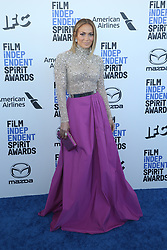 February 8, 2020, Los Angeles, California, United States: 2020 Film Independent Spirit Awards held at Santa Monica Pier..Featuring: Jennifer Lopez.Where: Los Angeles, California, United States.When: 08 Feb 2020.Credit: Faye's VisionCover Images (Credit Image: © Cover Images via ZUMA Press)