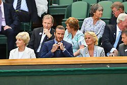 July 7, 2017 - London, London, United Kingdom - Image ©Licensed to i-Images Picture Agency. 07/07/2017. London, United Kingdom. Wimbledon Tennis Championships 2017-Day five. sits in the Royal box on Centre court on day five of the Wimbledon Tennis Championships in London. Picture by Andrew Parsons / i-Images (Credit Image: © Andrew Parsons/i-Images via ZUMA Press)