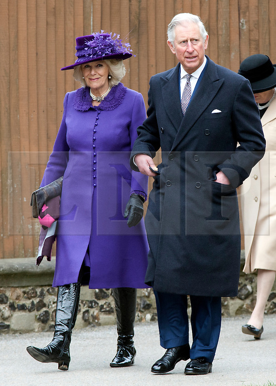 © London News Pictures. 21/03.2013. The Prince of Wales and the Duchess of Cornwall attends the enthronment of the new Archbishop of Canterbury the Most Rev. Justin Welby at Canterbury Cathedral in Canterbury, Kent. Photo credit should read Manu Palomeque/LNP