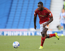 Michail Antonio of Nottingham Forest - Mandatory byline: Paul Terry/JMP - 07966386802 - 07/08/2015 - FOOTBALL - Falmer Stadium -Brighton,England - Brighton v Nottingham Forest - Sky Bet Championship
