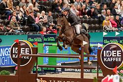 WERNKE Jan (GER), Queen Mary<br /> Leipzig - Partner Pferd 2020<br /> IDEE Kaffee-Preis<br /> Springprfg. nach Fehlern und Zeit, int.<br /> 17. Januar 2020<br /> © www.sportfotos-lafrentz.de/Stefan Lafrentz