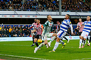 Rangers Nahki Wells during the EFL Sky Bet Championship match between Queens Park Rangers and Brentford at the Loftus Road Stadium, London, England on 10 November 2018.