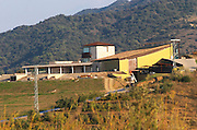 Winery building, Alvaro Palacios. Near Gratallops, Priorato, Catalonia, Spain