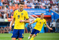 June 27, 2018 - Ekaterinburg, Russia - 180627 Marcus Berg of Sweden looks dejected during the FIFA World Cup group stage match between Mexico and Sweden on June 27, 2018 in Ekaterinburg..Photo: Petter Arvidson / BILDBYRN / kod PA / 87737 (Credit Image: © Petter Arvidson/Bildbyran via ZUMA Press)