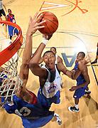 Mikael Hopkins at the NBPA Top100 camp June 19, 2010 at the John Paul Jones Arena in Charlottesville, VA. Visit www.nbpatop100.blogspot.com for more photos. (Photo © Andrew Shurtleff)