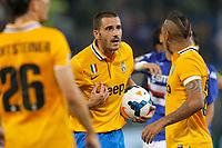 "Leonardo Bonucci Juventus, <br /> Genova 24/8/2013<br /> Stadio ""Luigi Ferraris"" <br /> Football Calcio 2013/2014 Serie A <br /> Sampdoria - Juventus <br /> Foto Marco Bertorello Insidefoto"