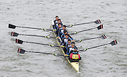 London, Great Britain.<br /> Xi An Jiaotong University (China), competing in the <br /> 2016 Head of the River Race, Reverse Championship Course Mortlake to Putney. River Thames. Saturday  19/03/2016<br /> <br /> [Mandatory Credit: Peter SPURRIER;Intersport images]
