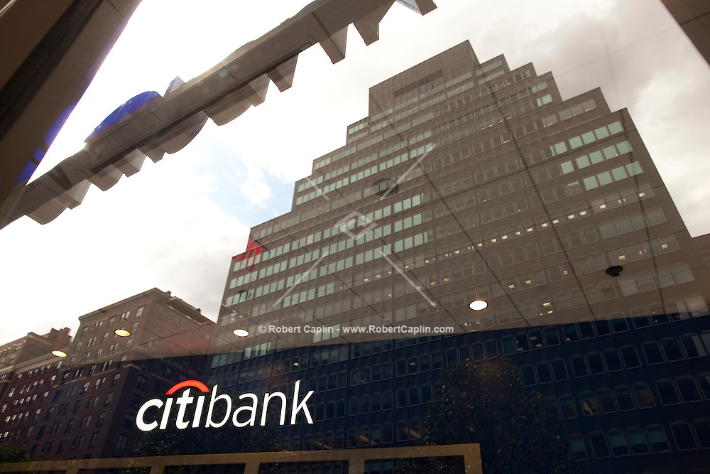 CitiBank at 90 Park Avenue in New York. ..Photo by Robert Caplin.