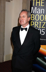 Writer JOHN BANVILLE winner the 2005 Man Booker Prize  at a dinner to announce the 2005 Man Booker Prize held at The Guilhall, City of London on 10th October 2005.<br /><br />NON EXCLUSIVE - WORLD RIGHTS