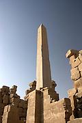 Obelisk, Temple of Amun at Karnak  Luxor, Egypt