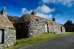 Gearrannan Black House Village, Isle of Lewis, Outer Hebrides, Scotland<br /> <br /> (c) Andrew Wilson | Edinburgh Elite media