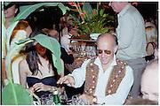 Roger Saul. Goodwood Revival Meeting  Ball 16 September 2000. 2000© Copyright Photograph by Dafydd Jones 66 Stockwell Park Rd. London SW9 0DA Tel 020 7733 0108 www.dafjones.com