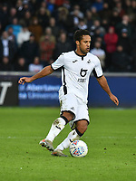 Football - 2019 / 2020 Sky Bet (EFL) Championship - Swansea City vs. Derby County<br /> <br /> Wayne Routledge of Swansea City on the ball, at The Liberty Stadium.<br /> <br /> COLORSPORT/WINSTON BYNORTH