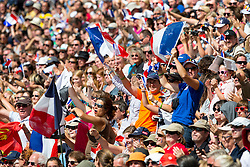 Supporter FRA - Alltech FEI World Equestrian Games™ 2014 - Normandy, France.<br /> © Hippo Foto Team - Leanjo De Koster<br /> 31-08-14