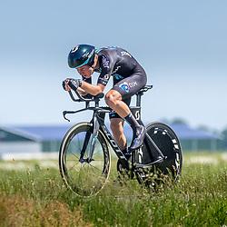 EMMEN (NED) June 16: <br /> CYCLING <br /> Dutch Nationals Time Trail Women Elite<br /> Pepijn Reinderink