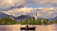 Bled Lake with the island church - Slovenia