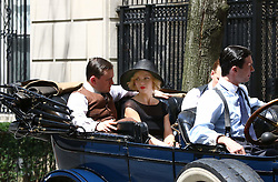 August 9, 2016 - New York, New York, United States - Actress Christina Ricci on the set of the new TV show 'Z: The Beginning of Everything' on August 9 2016 in New York City  (Credit Image: © Zelig Shaul/Ace Pictures via ZUMA Press)