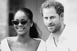 Prince Harry and Rihanna attend the 'Man Aware' event held by the Barbados National HIV/AIDS Commission in Bridgetown, Barbados, during his tour of the Caribbean.