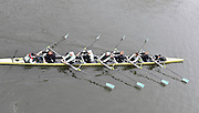 Putney, GREAT BRITAIN,   Cambridge Blue Boat - Passing under Hammersmith Bridge, during Tideway Week, 2009 Boat Race,  Rowing 'Championship Course' Putney to Mortlake, on the River Thames, Fri 27.03.2009. [Mandatory Credit, Peter Spurrier / Intersport-images] Cambridge Crew, right to left, Bow Rob WEITEMEYER, Henry PELLY, Tom RANSLEY, Peter MARESLAND, Deaglan McEACHERN, Hardy CUBASCH, Ryan MONAGHAN, Silas STAFFORD and cox Rebbecca DOWBIGGIN.