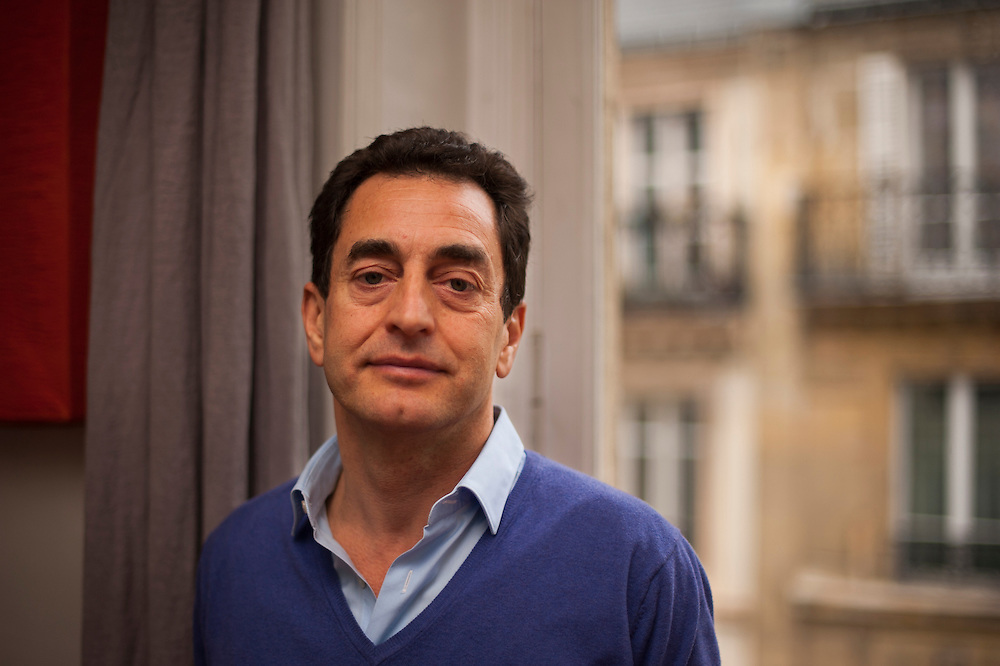 Eric Chevallier, France's ambassador to Syria, in his Paris' appartment.<br /> <br /> Éric Chevallier, ambassadeur de France en Syrie