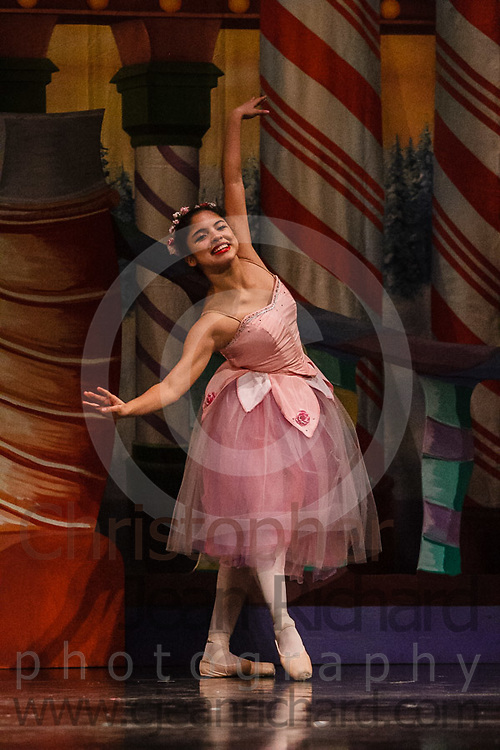 Students of the Dance School formerly knows as PAPA add the finishing touches in preparation for their performances of The Nutcracker - 2018. <br /> <br /> Woodlands College Park High School<br /> The Woodlands, Texas