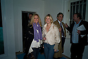 Pia Getty; Sigrid Wilkinson, Private view: Atlantis by Gayle Chong Kwan, Hosted by Pia Getty, Isabella Macpherson & Sigrid Wilkinson . 29 Thurloe Place, SW7. London. 11 Nov emebr 2008<br /> *** Local Caption *** -DO NOT ARCHIVE-© Copyright Photograph by Dafydd Jones. 248 Clapham Rd. London SW9 0PZ. Tel 0207 820 0771. www.dafjones.com.