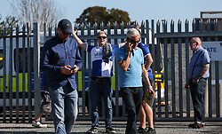Bristol Rovers fan before kick off - Mandatory by-line: Arron Gent/JMP - 21/09/2019 - FOOTBALL - Cherry Red Records Stadium - Kingston upon Thames, England - AFC Wimbledon v Bristol Rovers - Sky Bet League One