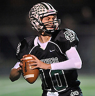 The Elyria Catholic Panthers in action against Orrville in Ohio High School football playoff action on November 12, 2010. © David Richard