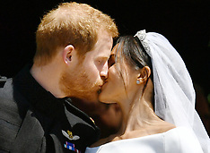 Prince Harry & Meghan Markle Royal Wedding - 19 May 2018