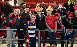 Billy Searle of Bristol Rugby poses with fans - Mandatory by-line: Alex Davidson/JMP - 08/12/2017 - RUGBY - Ashton Gate Stadium - Bristol, England - Bristol Rugby v Leinster 'A' - B&I Cup