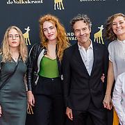 NLD/Utrecht/20200926 - NFF 2020 - Vliegende Hollanders première, Joram Lürsenmet familie en partner
