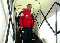Gustav Engvall of Bristol City arrives at the Macron Stadium ahead of the fixture with Bolton Wanderers - Mandatory by-line: Robbie Stephenson/JMP - 02/02/2018 - FOOTBALL - Macron Stadium - Bolton, England - Bolton Wanderers v Bristol City - Sky Bet Championship