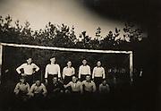 soccer team 1920s Holland