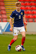 Michael Craig (Tottenham Hotspur) during the U17 European Championships match between Scotland and Poland at Firhill Stadium, Maryhill, Scotland on 26 March 2019.
