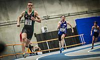 Friidrett<br /> NM Innendørs 2015<br /> Steinkjer 07.02.15<br /> Kartsen Warholm vinner 400m på ny norsk innendørsrekord med 47.29<br /> <br /> <br /> Foto : Eirik Førde