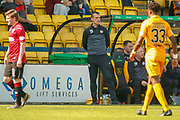 Oran Kearney St Mirren Manager during the Ladbrokes Scottish Premiership match between Livingston and St Mirren at Tony Macaroni Arena, Livingstone, Scotland on 20 April 2019.