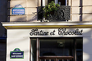 Tartine et Chocolat, children's clothes shop on Boulevard St Germain, Paris, France