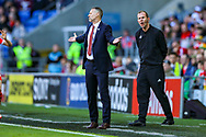 Wales Manager Ryan Giggs during the UEFA European 2020 Qualifier match between Wales and Slovakia at the Cardiff City Stadium, Cardiff, Wales on 24 March 2019.