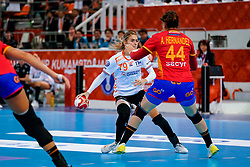 15-12-2019 JAP: Final Netherlands - Spain, Kumamoto<br /> The Netherlands beat Spain in the final and take historic gold in Park Dome at 24th IHF Women's Handball World Championship / Estavana Polman #79 of Netherlands