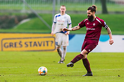 Luka MAJCEN during Football match between NK Triglav Kranj and NK Celje, on May 12, 2019 in Sport center Kranj, Kranj, Slovenia. Photo by Peter Podobnik / Sportida