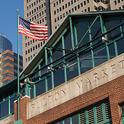 Fulton Market at South Street Seaport in Manhattan