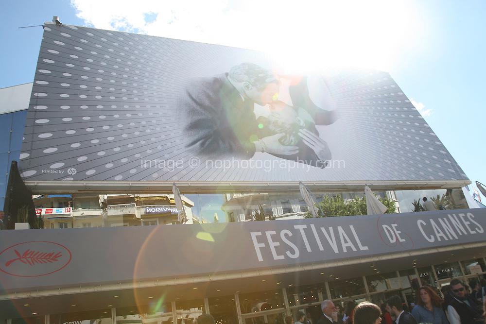The Palais des festivals during the 66th Cannes Film Festival 2013