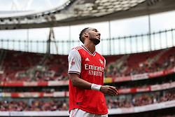 Pierre-Emerick Aubameyang of Arsenal after missing a chance to score - Mandatory by-line: Arron Gent/JMP - 28/07/2019 - FOOTBALL - Emirates Stadium - London, England - Arsenal v Olympique Lyonnais - Emirates Cup