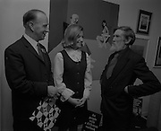 "04/07/1969.07/04/1969.4th July 1969.Sean Keating at an exhibit of a representative selection of the exhibits in the RTE Regional Arts awards from Limerick  shown in the Tintawn showroom in South KIng Street, Dublin..Sean Keating.Sean Keating (1889-1977).Portrait and figure painter, John Keating was born in Limerick on 28th September 1889...Examples: Armagh: County Museum. Ballinasloe, Co. Galway: St Joseph's College. Beijing: Irish Embassy. Belfast: Dublin Institute for Advanced Studies; Passionist Retreat, The Graan. Galway: National University of Ireland. Glasgow: Art Gallery and Museum. Kilkenny: Art Gallery Society. Clongowes Wood College. Oldham, Lancs: Art Gallery and Museum. Rome: Irish College. Sligo: Model and Niland Centre. Tralee, Co. Kerry: St John's Church. Waterford: City Hall, Municipal Art Collection. Electricity Supply Board; Federated Workers' Union of Ireland; Hugh Lane Municipal Gallery of Modern Art; Institution of Engineers of Ireland; McKeeBarracks; Mansion House; National Gallery of Ireland; National Museum of Ireland; Office of Public Works; Pharmaceutical Society of Ireland; University College (Newman House; Earlsfort Terrace). Dundrum, Co. Dublin: Carmelite Fathers, Gort Muire. Public Library. Brussels: Mused Modeme. Cork: Collins Barracks; Crawford Municipal Art Gallery. Dublin: Aras an Uachtar~in; Church of Ireland See House, Temple Road, Milltown; Church of St Therese, Mount Merrrion; Church of the Holy Spirit, Ballyroan; Co. Dublin Vocational Education Committee;.Literature: Royal Dublin Society Report of Council, 1""4; The Studio, May 1915, July 1917, September 1923 (also illustration), July 1914, October 1924, November 1951; Seumas O'Brien, The Whale and the Grasshopper, Dublin 1920 (illustration); Dublin Magazine, December 1923 (illustration), October 1924 (illustration), July- September 1943, October-December 1946; John M. Synge, The Playboy of the Western World, London 1927 (illustrations); J. Crampton Walker, Irish Life and Landsc"