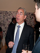 Harvey McGrath; , Indonesian Eye Contemporary Art Exhibition Reception, Saatchi Gallery. London. 9 September 2011. <br /> <br />  , -DO NOT ARCHIVE-© Copyright Photograph by Dafydd Jones. 248 Clapham Rd. London SW9 0PZ. Tel 0207 820 0771. www.dafjones.com.
