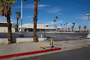 Abandoned service station, Palm Springs, California