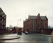 Old amateur photos of Dublin streets churches, cars, lanes, roads, shops schools, hospitals April 1987